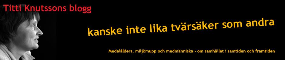 Titti Knutsson Blogg